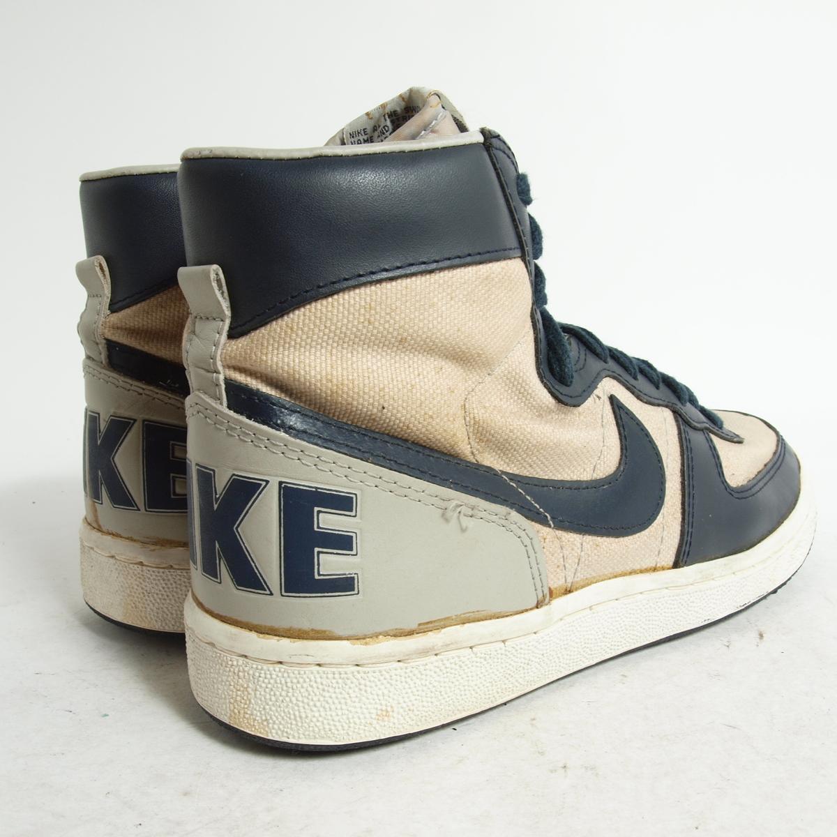 huge discount 9d9cd 948dc Sneakers US8 .5 mens 26.5cm vintage NIKE bok8091 in the 80s made in Nike  TERMINATOR HIGH terminator canvas Korea