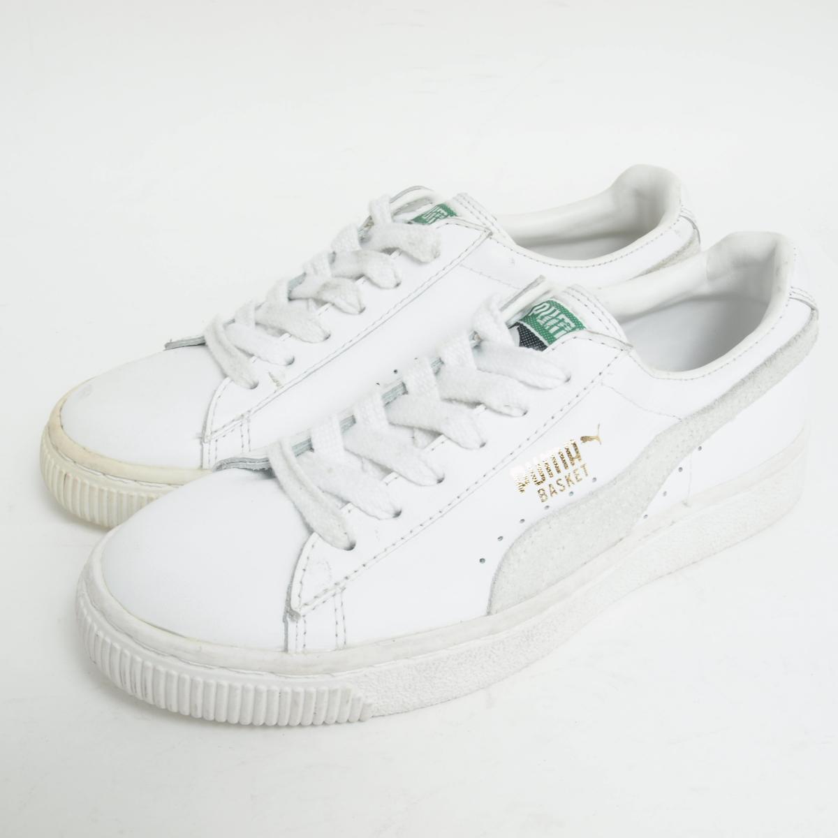 c25cc1433314 VINTAGE CLOTHING JAM  90s dead stock Puma PUMA BASKET sneakers US3.5 ...