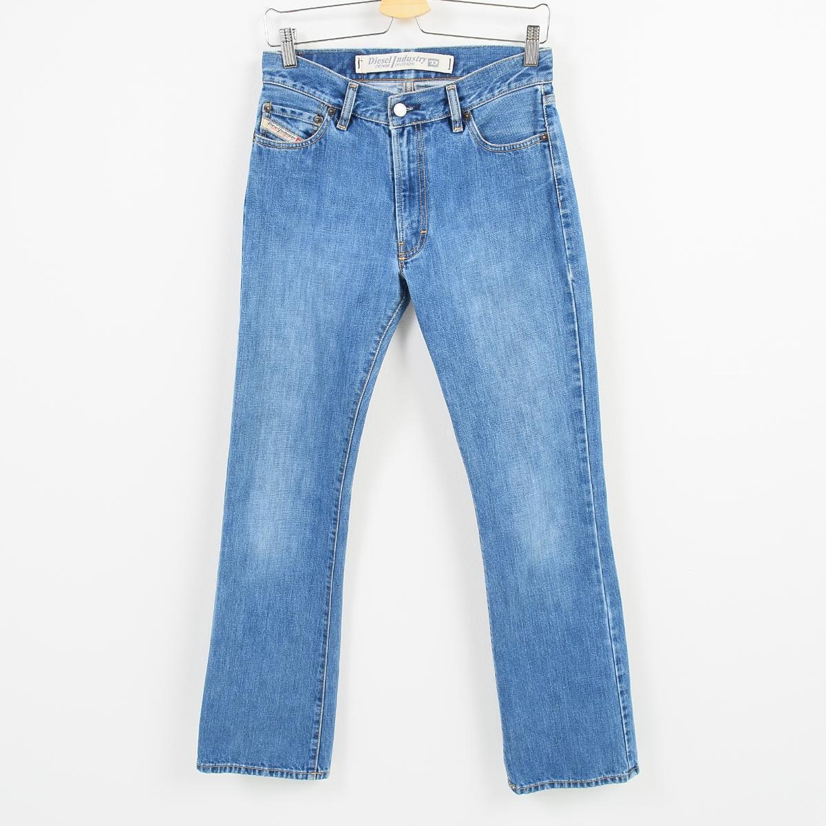 7d754060 Lady's L(w30) /wai8683 made in diesel DIESEL INDUSTRY bootcut jeans denim  underwear ...