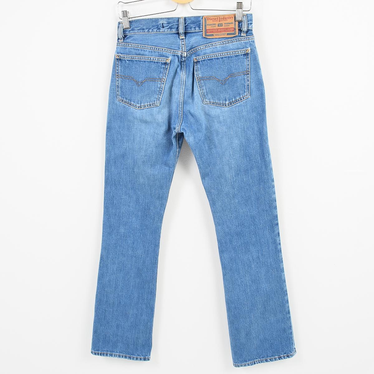 85a2ea40 ... Lady's L(w30) /wai8683 made in diesel DIESEL INDUSTRY bootcut jeans  denim underwear ...