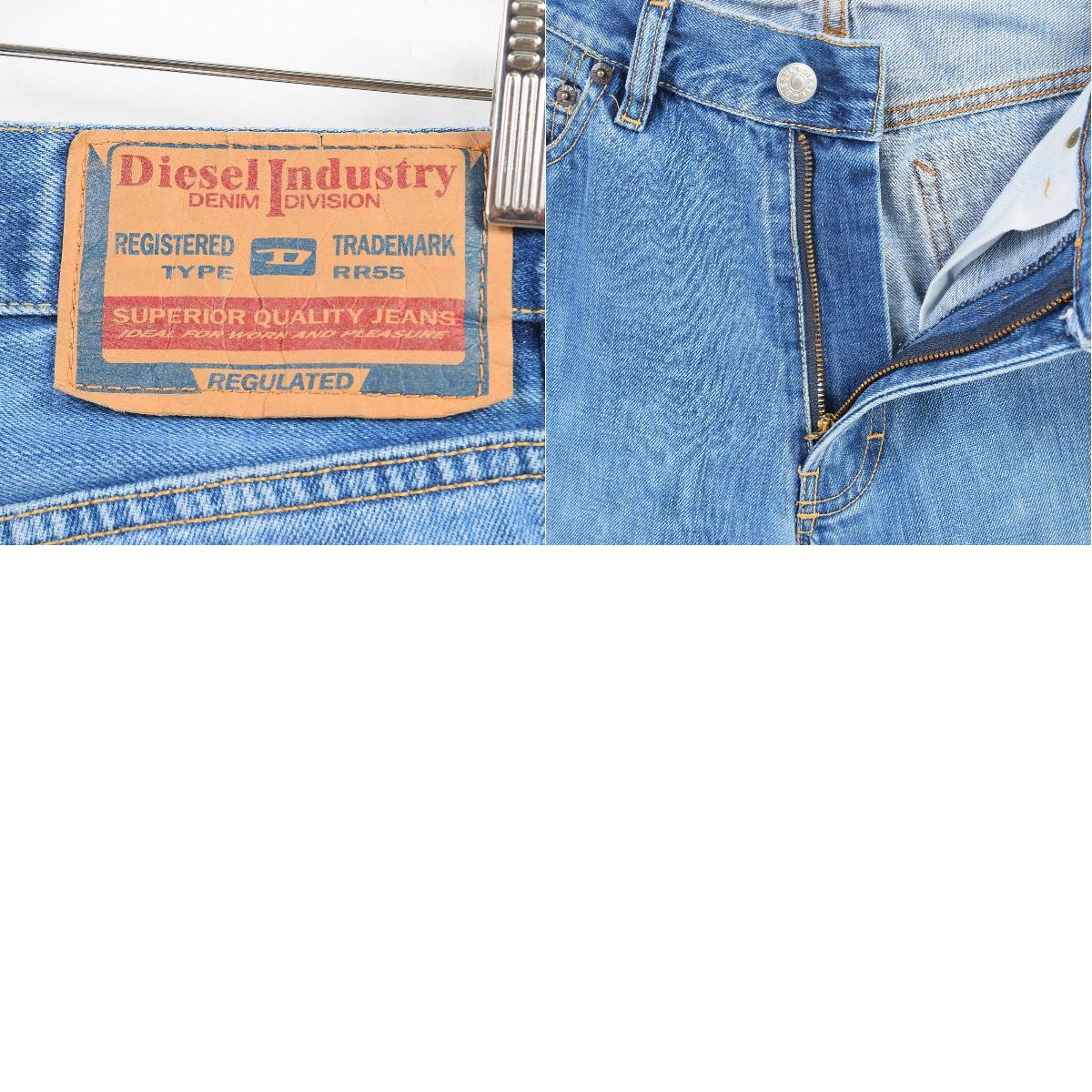 770b14e6 ... Lady's L(w30) /wai8683 made in diesel DIESEL INDUSTRY bootcut jeans  denim underwear