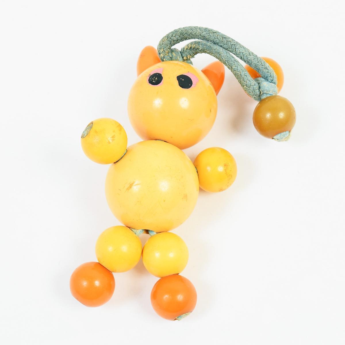 希少 40年代 アンティークトイ ベークライト 人形 おもちゃ ヴィンテージ /anb6215 【中古】 【180813】