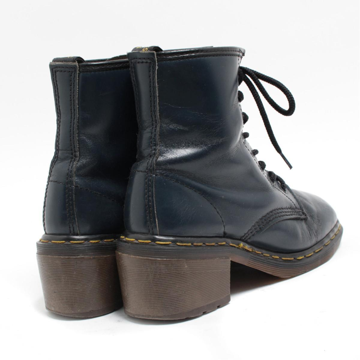 Lady's 23.5cm /bol4645 made in the doctor Martin Dr.Martens high-heeled shoes 8 hall boots U.K.