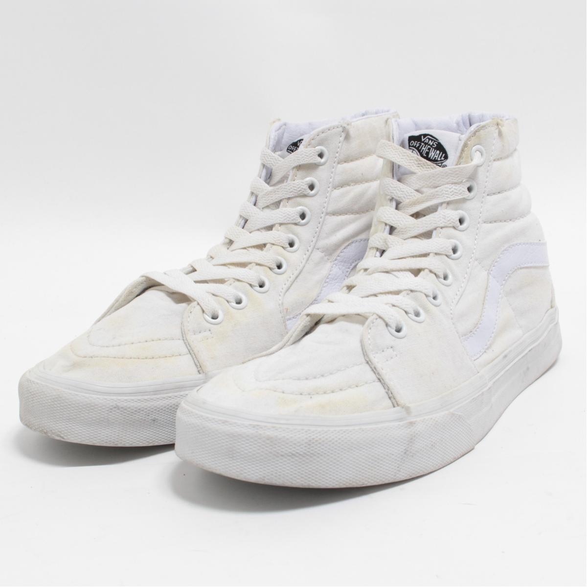 681d7f13cc53c6 VINTAGE CLOTHING JAM  Vans VANS SK8-HI high-top sneakers US8 .5 ...