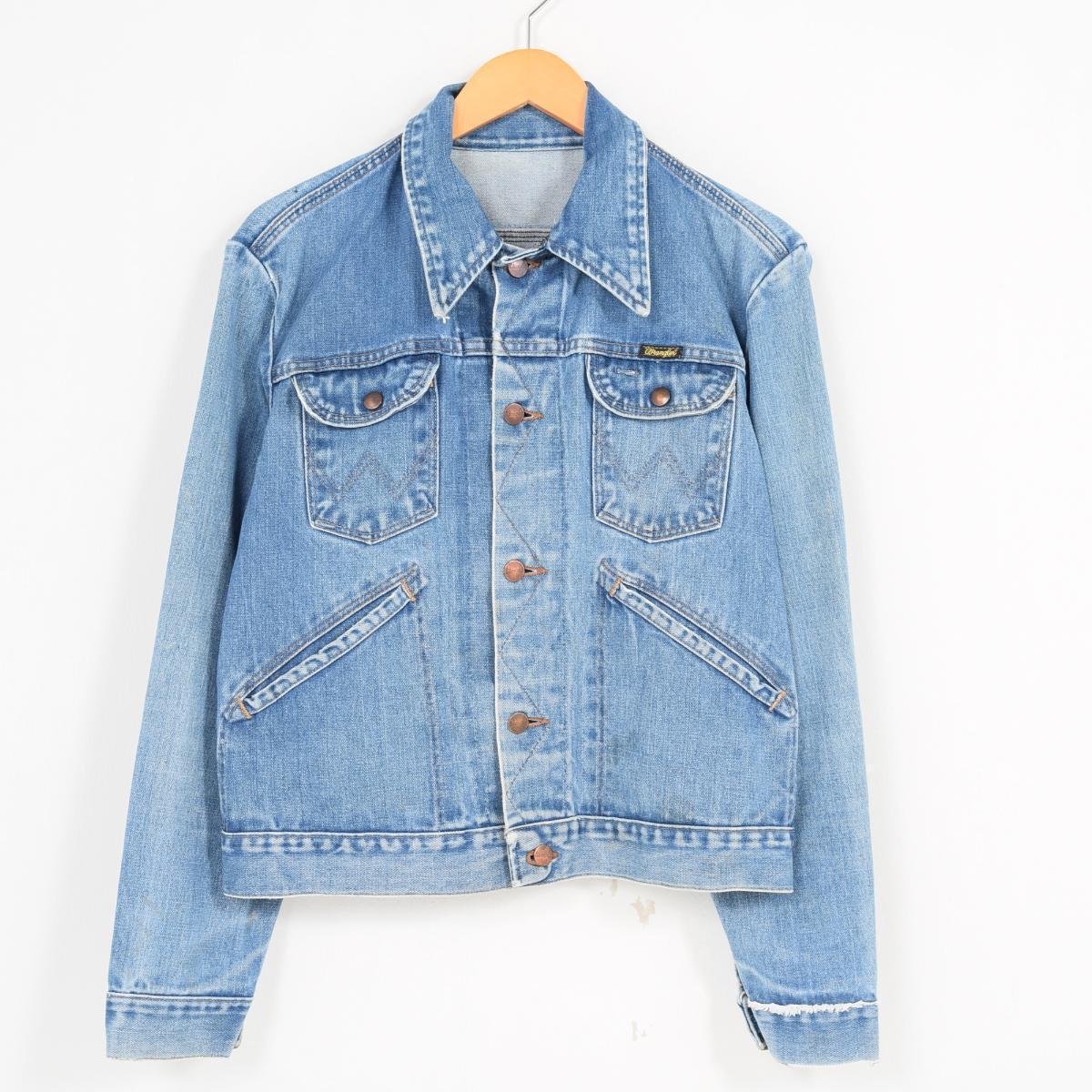Denim Jacket Jam Back Vintage Clothing Paint G Wrangler qgYXnHwxn1