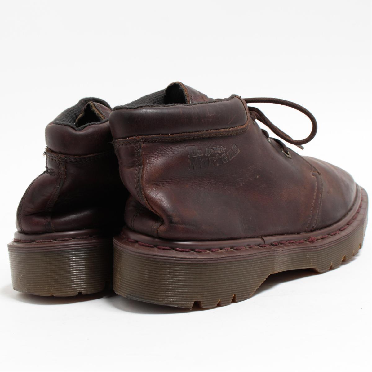UK9 men 27.5cm /bol7040 made in the doctor Martin Dr.Martens chukka boots U.K.