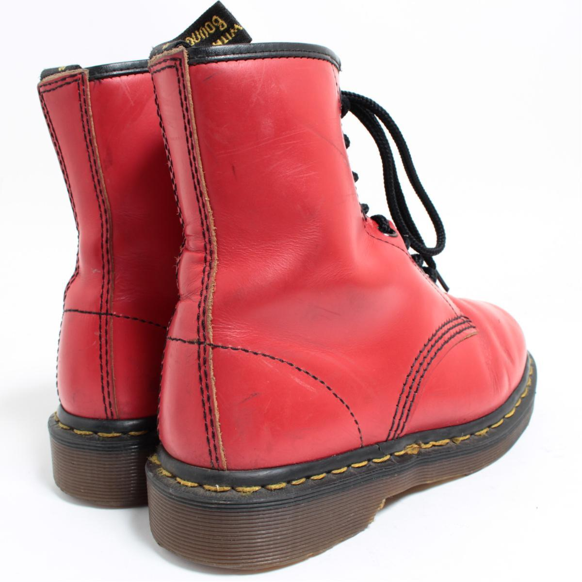 UK4 Lady's 22.5cm /bol6819 made in the doctor Martin Dr.Martens 8 hall boots U.K.