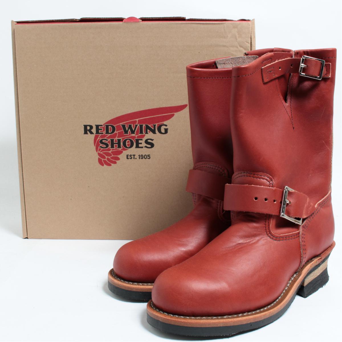 レッドウィング RED WING ENGINEER/エンジニア/8271 エンジニアブーツ USA製 5.5D レディース23.5cm /bol7975 【アウトレット】 【190702】