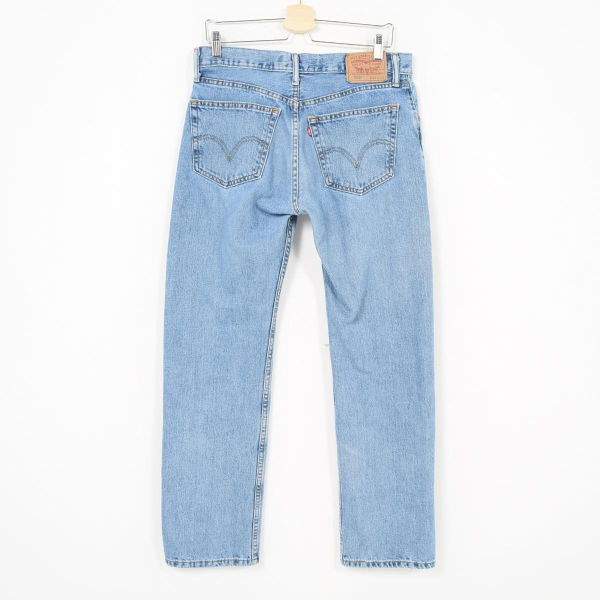 b2fac159031 ... Levis Levi's 505 STRAIGHT FIT tapered jeans denim underwear men w34  /wak2427 ...