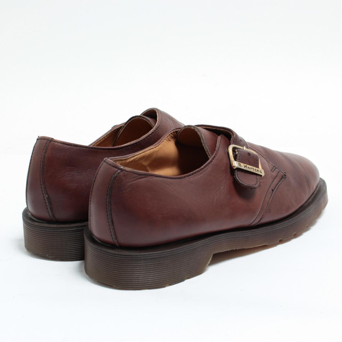 UK6 .5 men's 25.0cm /boj8521 made in the doctor Martin Dr.Martens Monk strap shoes U.K.