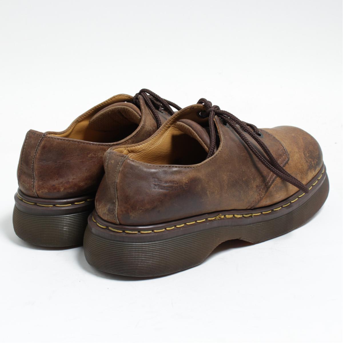 UK9 men 27.5cm /bom0672 made in the doctor Martin Dr.Martens 4 hall shoes U.K.