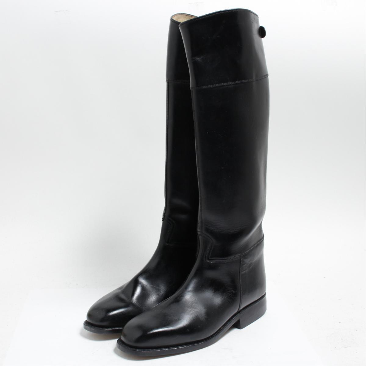 カバロ Cavallo ジョッキー乗馬ブーツ 4.5 レディース22.5cm /bom0538 【中古】 【171208】