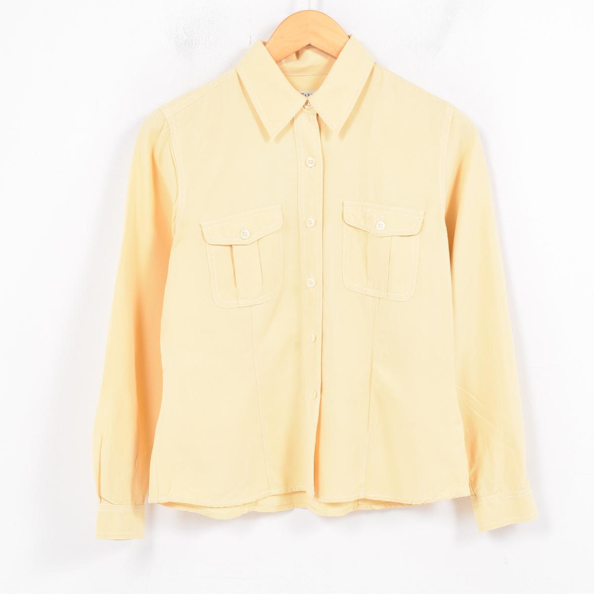 49e52cad60cb9 VINTAGE CLOTHING JAM  Ann Taylor Ann Taylor long sleeves silk shirt ...