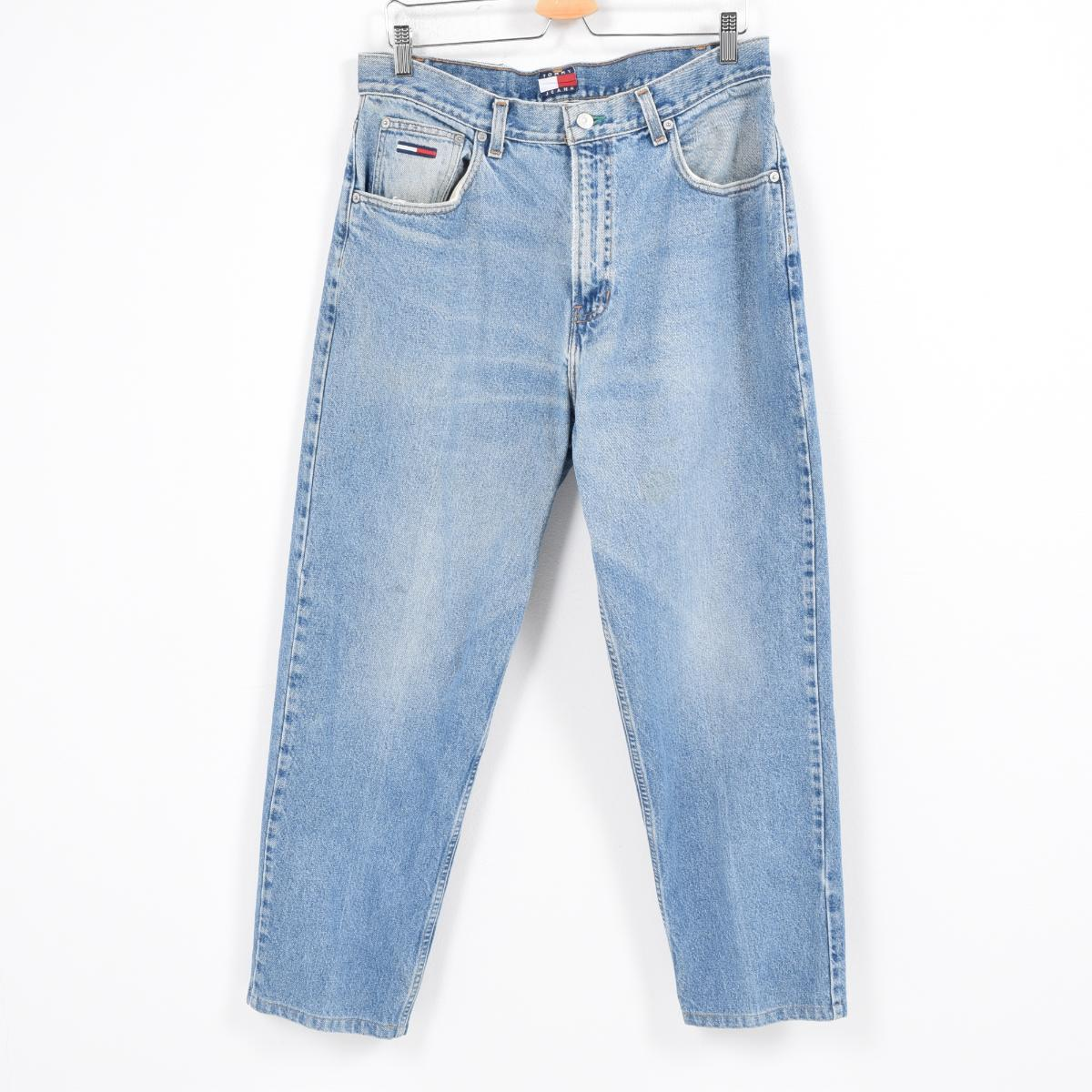 f9bc6564 Men w36 /wal8379 in the 90s made in トミーヒルフィガー TOMMY HILFIGER JEANS jeans  denim ...