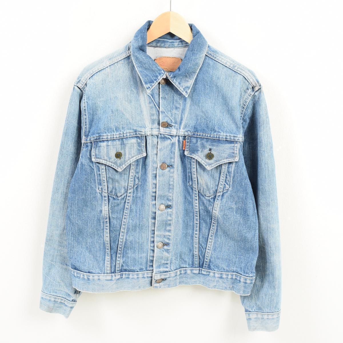 70s Levis Levis 70505 0217 Denim Jacket G Jean 42 Mens M Vintage Wak8974