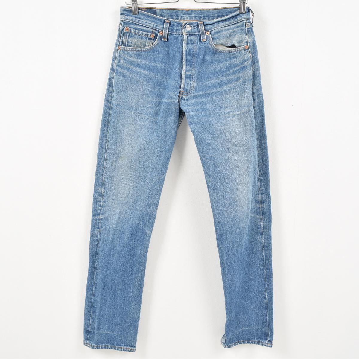 3fadc574fa8 Men w31 /wal6215 in the 90s made in Levis Levi's 501 jeans straight denim  underwear ...