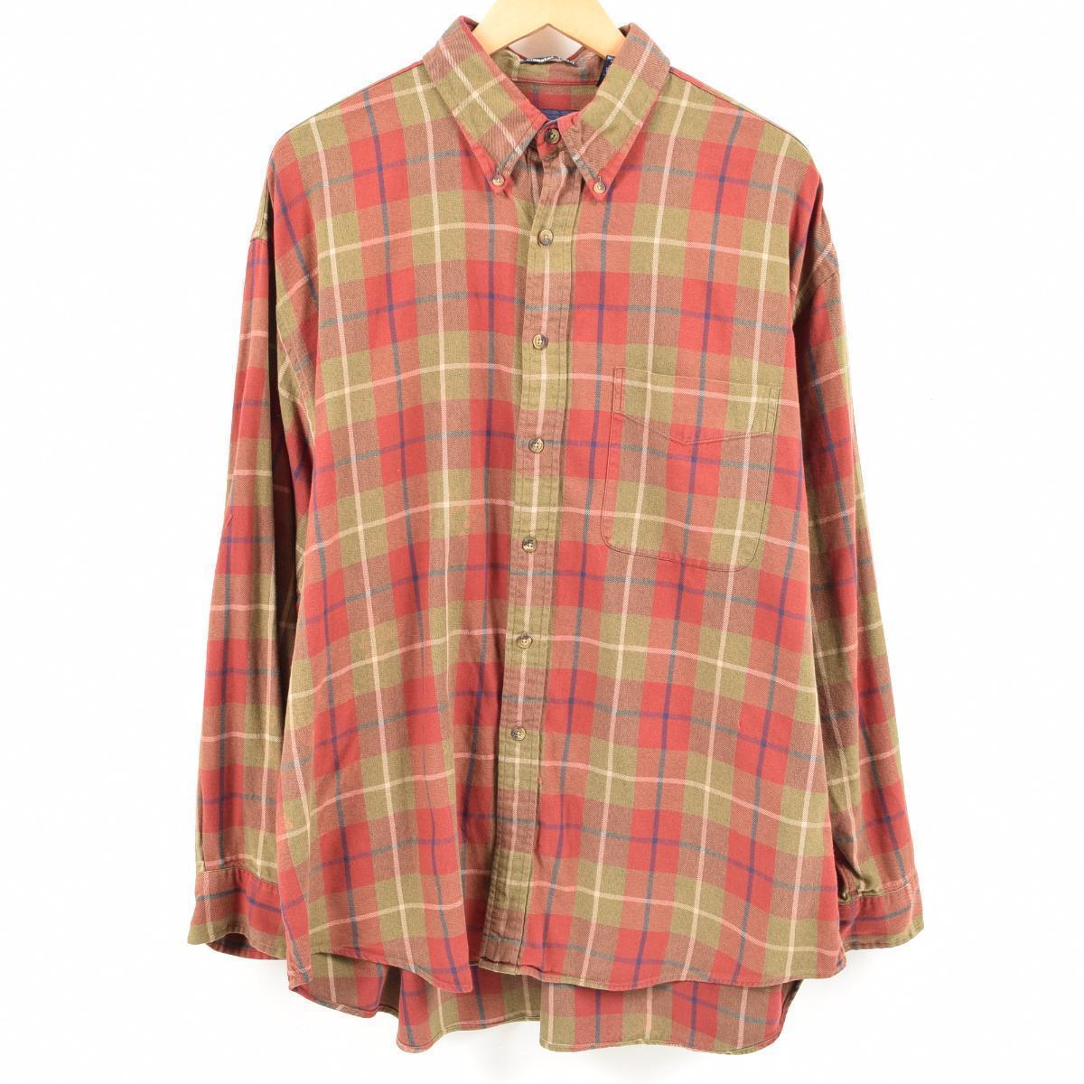 lika halpaa uusi halpa puhdistushinnat GANT long sleeves check shirt men XXL /wal6015 who are button-downed