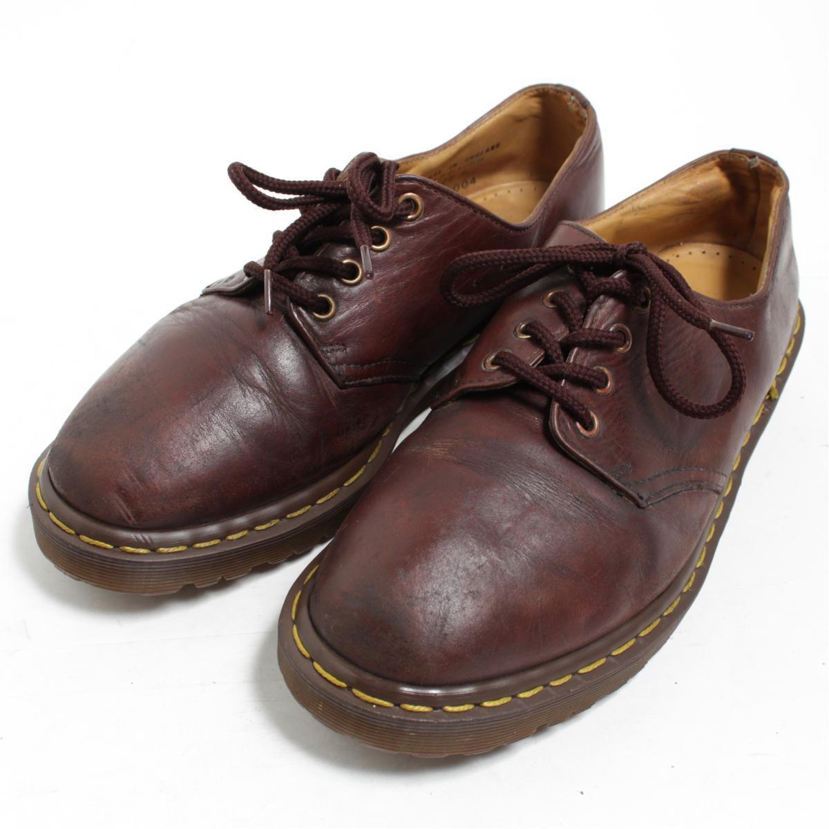 ドクターマーチン Dr.Martens 4ホールシューズ 英国製 UK8 メンズ26.5cm /bom2209 【中古】【古着屋JAM】【古着屋JAM】 【180218】