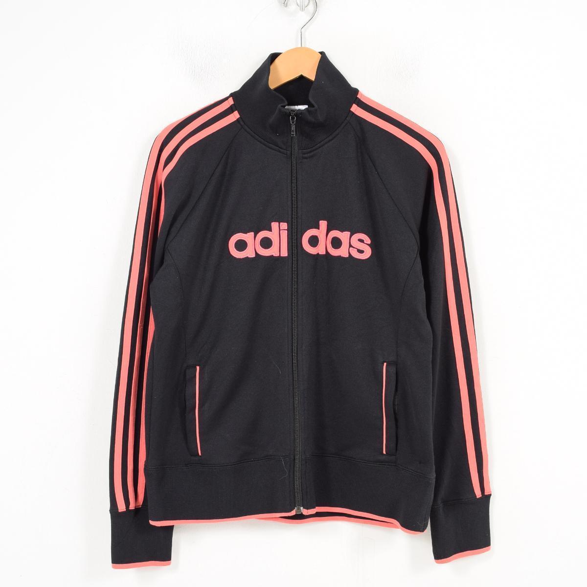 416b51284 Adidas adidas jersey truck jacket Lady's L /wao5010