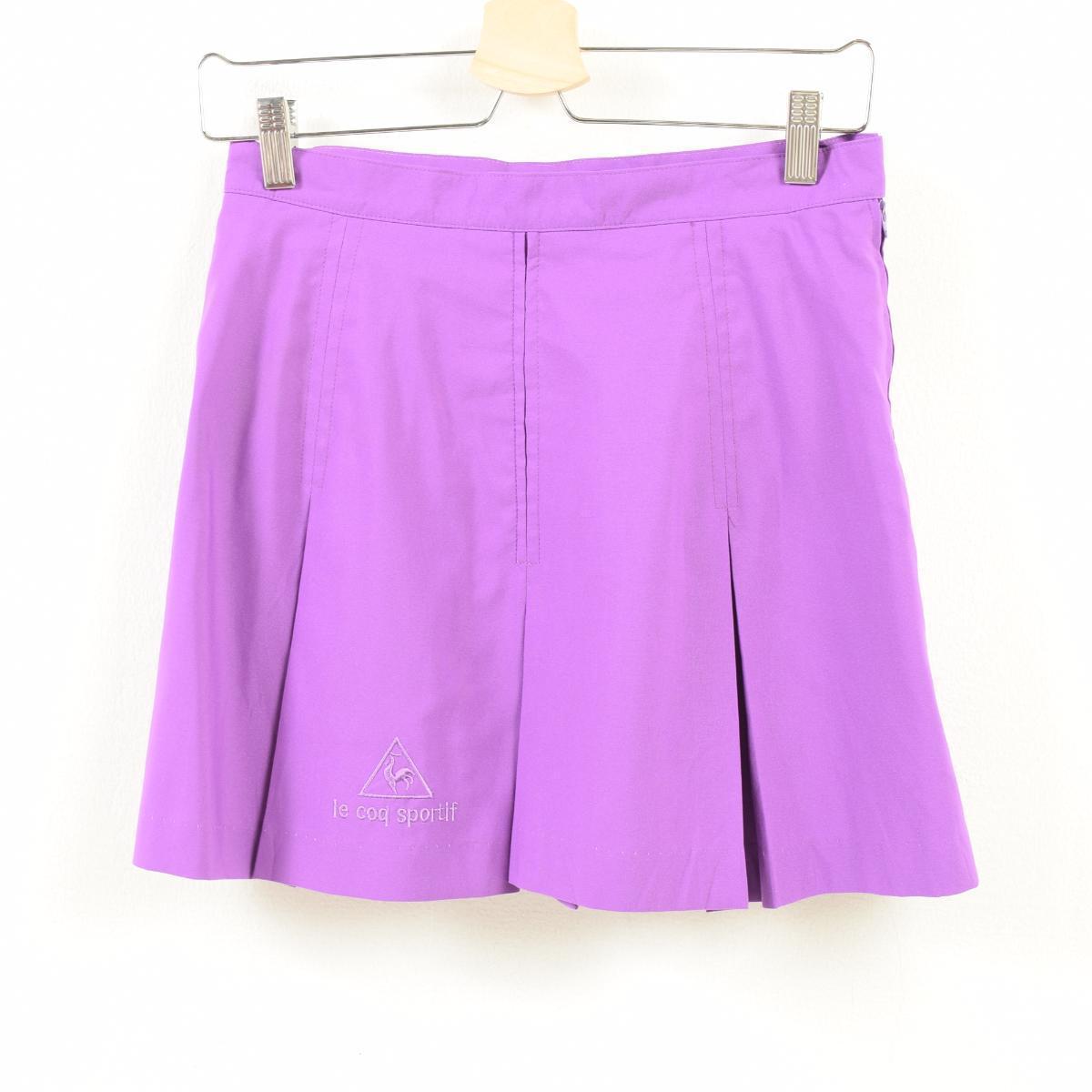 0ef8e6d4cccd Lady s L  was5400 made in Le Coq Sportif le coq sportif box pleat miniskirt  tennis skirt USA