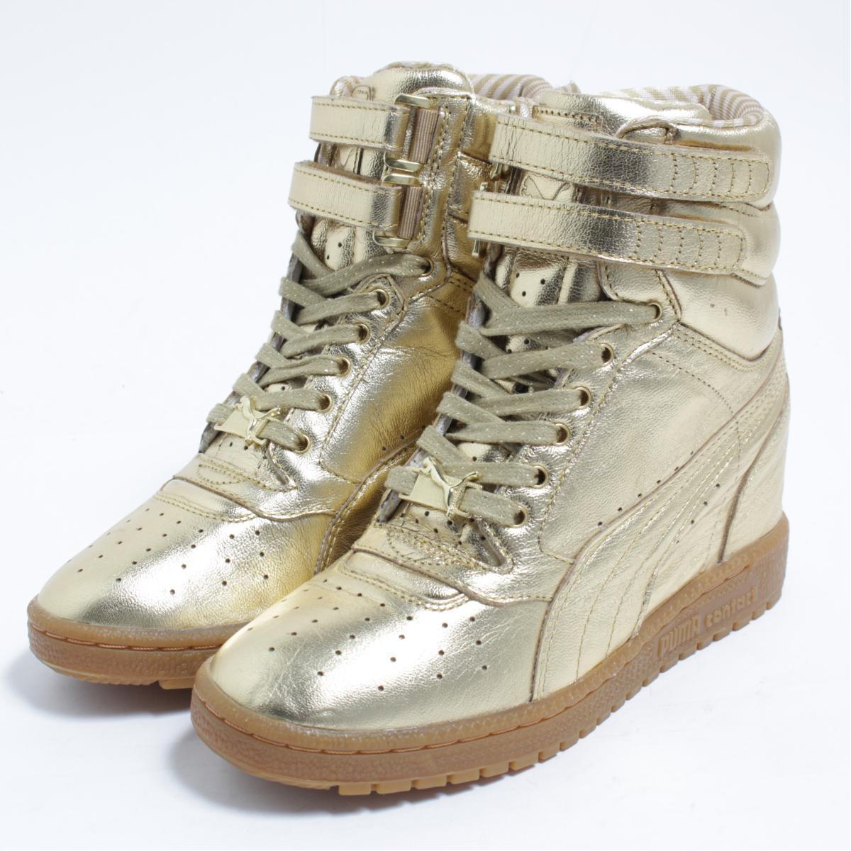 f5875c3ad45 VINTAGE CLOTHING JAM  Puma PUMA SKY WEDGE sneakers US7 Lady s 24.0cm ...