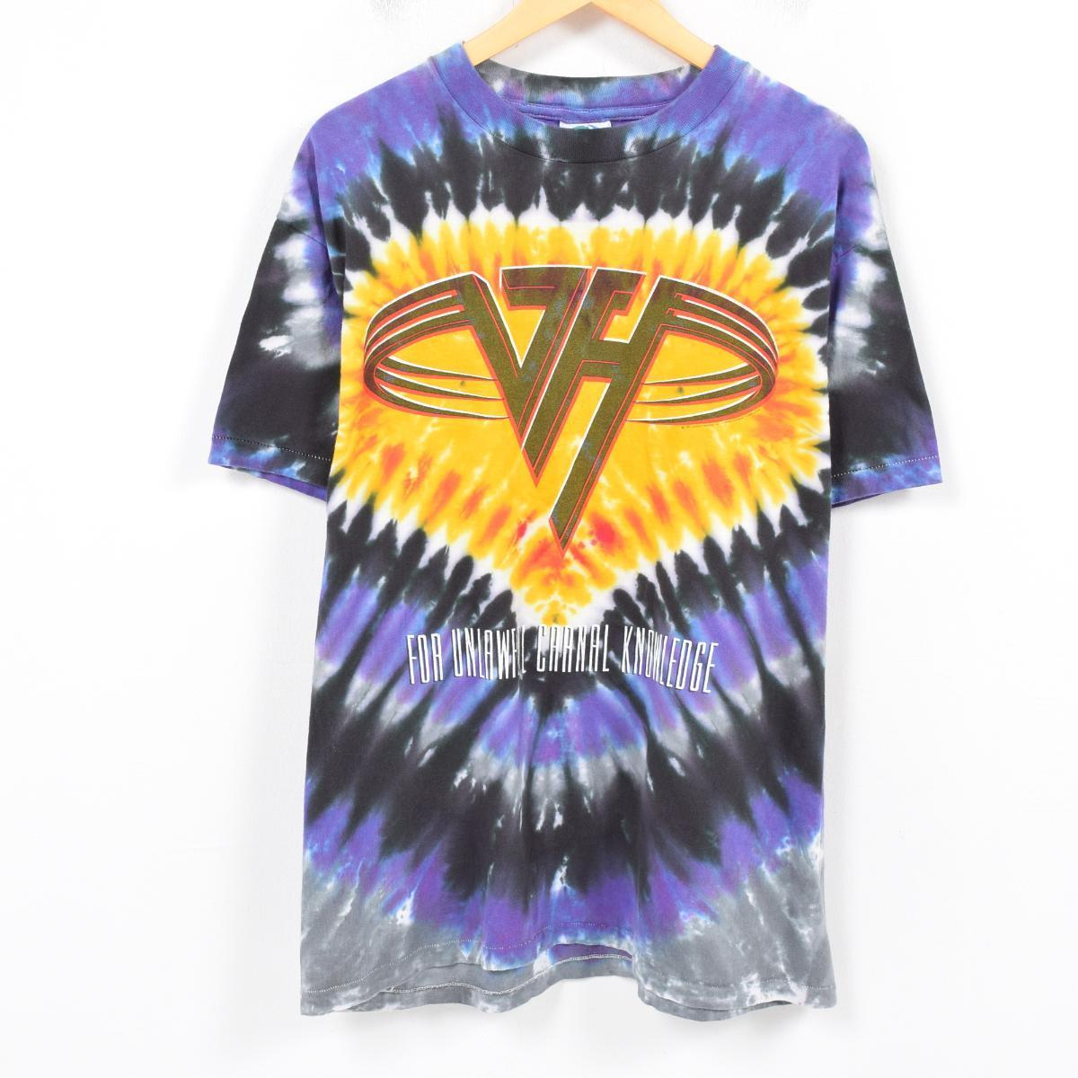 6c2c2f850b4d Men L /wap1768 in the 90s made in LIQUID BLUE VAN HALEN Van Halen F ...