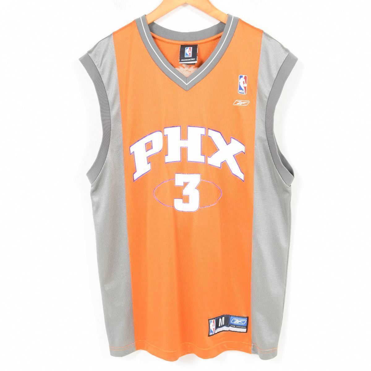size 40 53bdb fad63 Reebok Reebok NBA PHOENIX SUNS Phoenix Suns Jason Richardson game shirt  replica uniform men M /wap1005