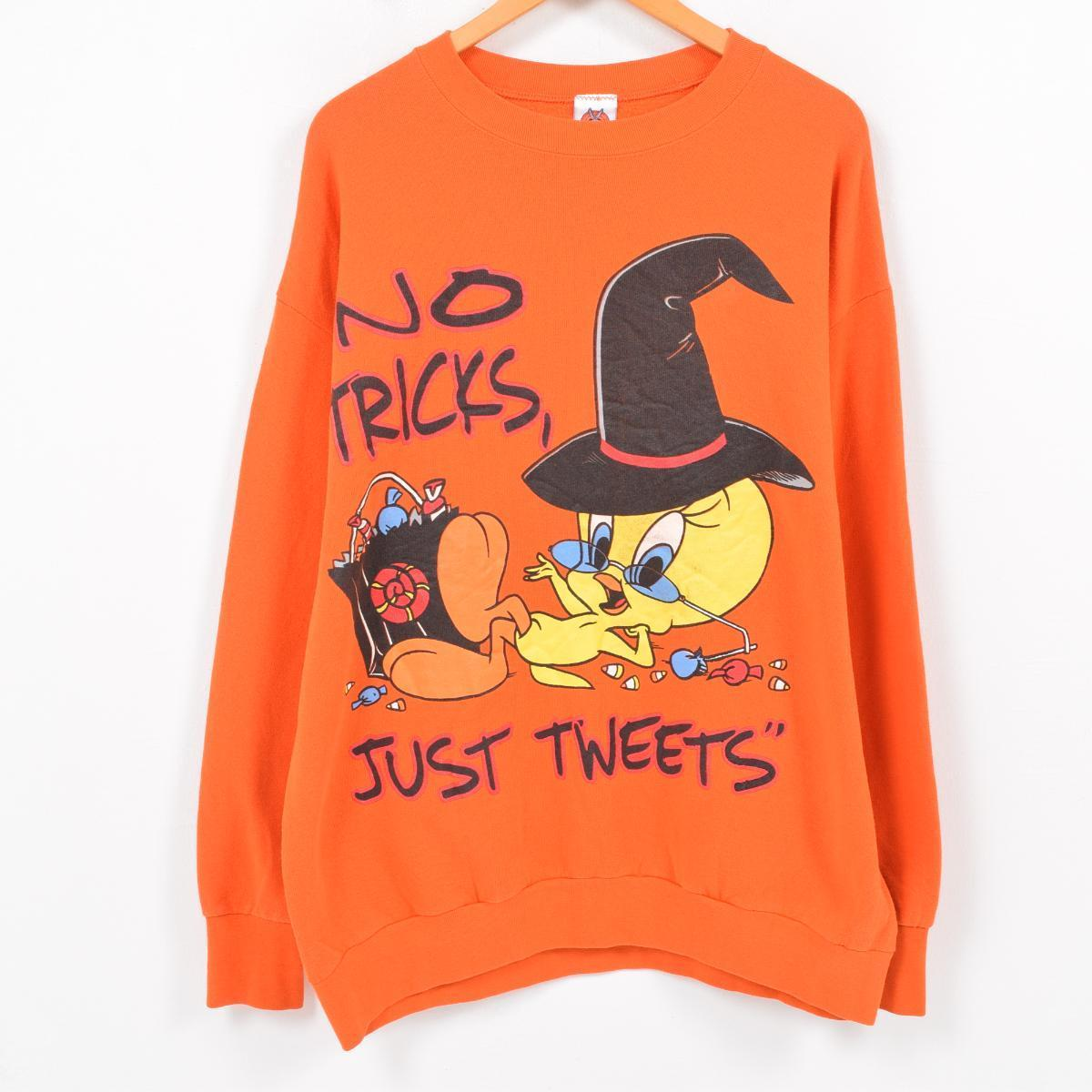 vintage clothing jam: 90s rooney tune's looney tunes tweety toe e