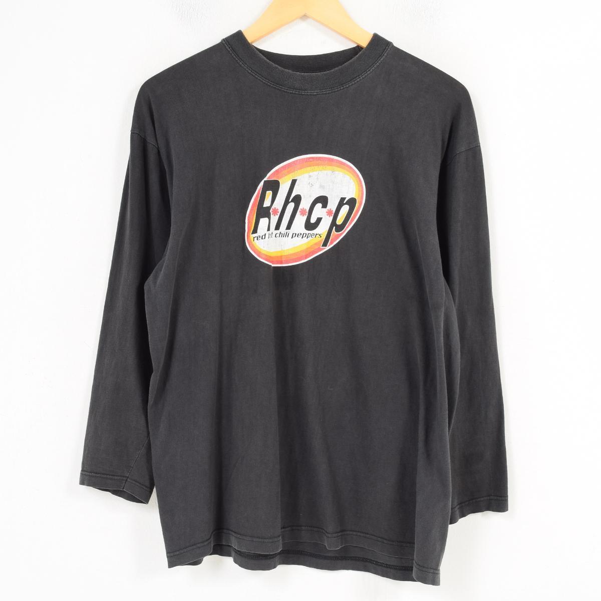 RED HOT CHILIPEPPERS レッドホットチリペッパーズ EUROPEAN TOUR 03 バンドTシャツ ロングTシャツ ロンT メンズL /wap0595 【中古】 【180327】