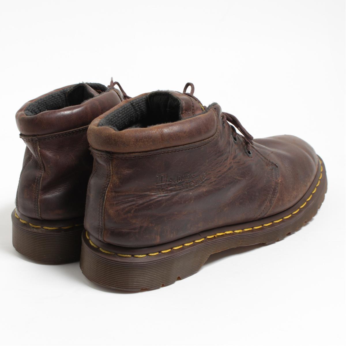 UK9 men 27.5cm /bom5195 made in the doctor Martin Dr.Martens 3 hall boots U.K.