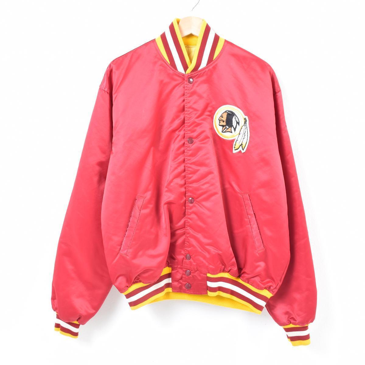 finest selection be371 31aca Men XL /war7338 made in starter Starter NFL WASHINGTON REDSKINS Washington  Redskins nylon award jacket Award jacket USA