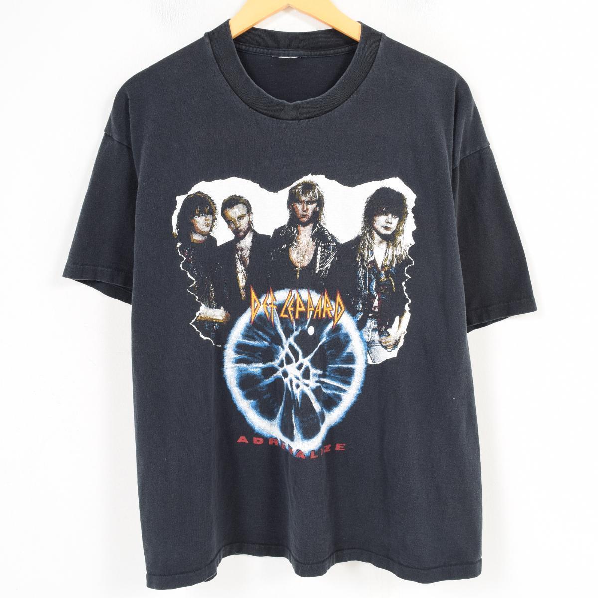 90年代~ DEF LEPPARD デフレパード ADRENALIZE バンドTシャツ メンズXL /wao9165 【中古】 【180407】
