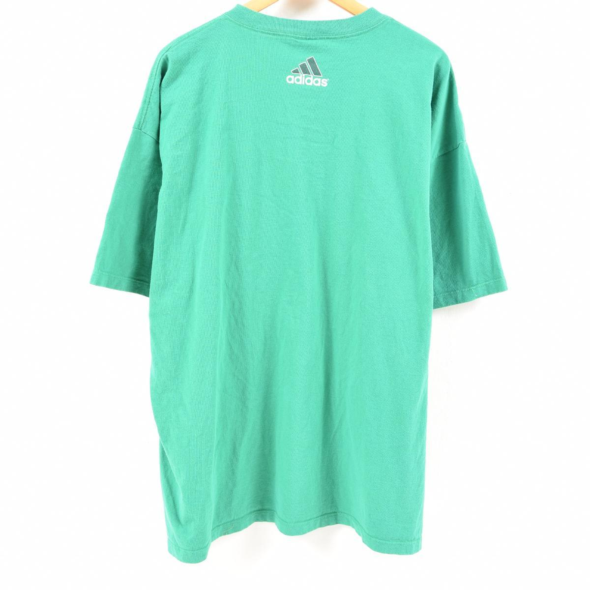 ea0c4197c ... Men XXL /wan0262 in the 90s made in Adidas adidas logo T-shirt USA ...