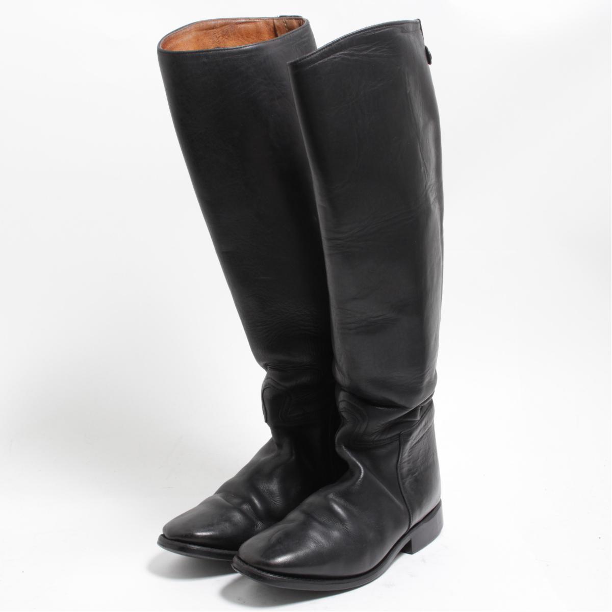 カバロ Cavallo ジョッキー乗馬ブーツ 5 レディース23.0cm /bom4609 【中古】 【180409】