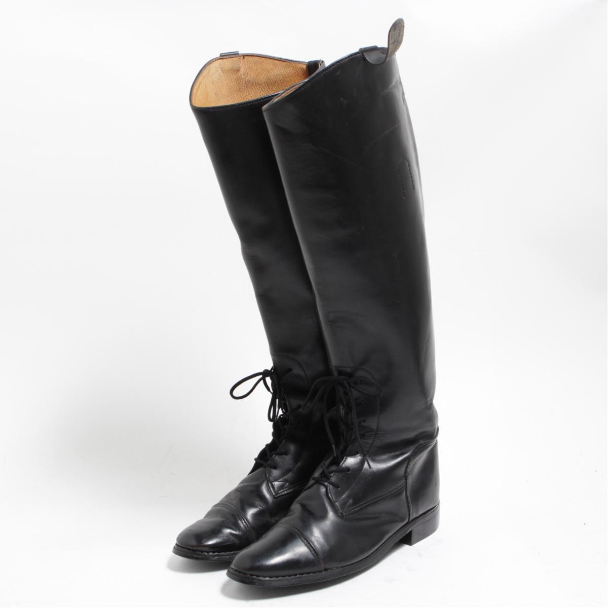 ジョッキー乗馬ブーツ USA製 7B レディース23.5cm /bom4656 【中古】 【180410】