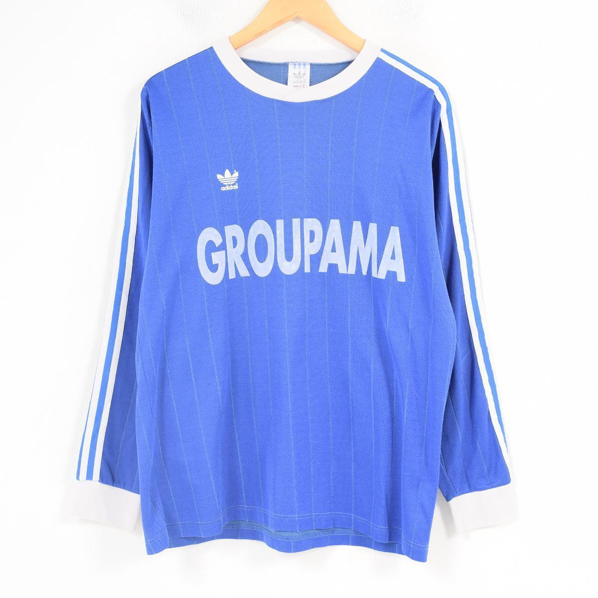 401e2da17 Men XL vintage  waq4927 in the 80~90 generation made in Adidas adidas flock  print soccer shirt Yugoslavia