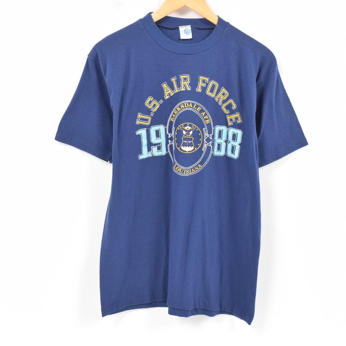 3b204f54865d9c Men L vintage /war7532 in the 80s made in Altech's ARTEX U.S.AIR FORCE  military print T-shirt USA
