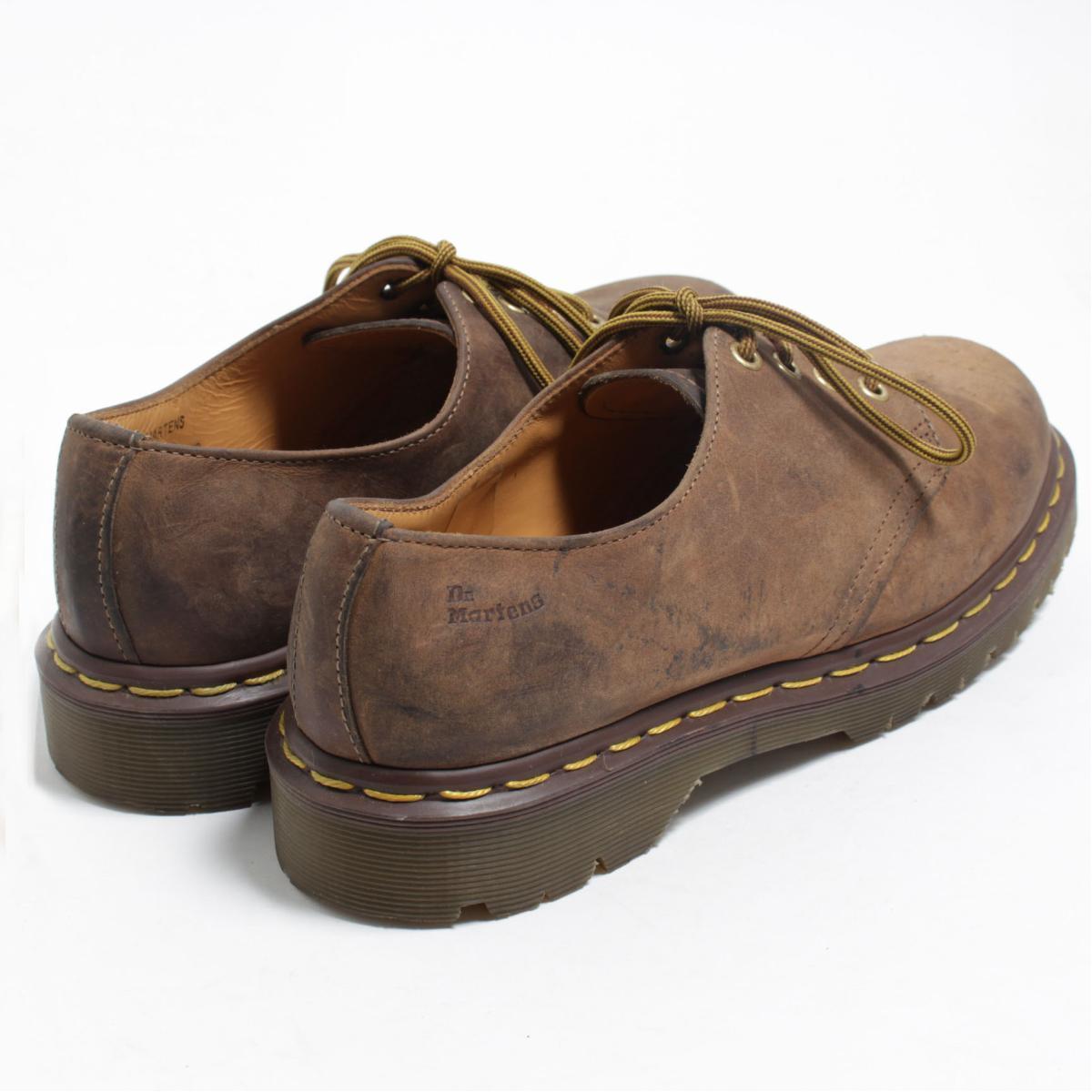 UK7 men 25.5cm /bom4007 made in the doctor Martin Dr.Martens 4 hall shoes U.K.