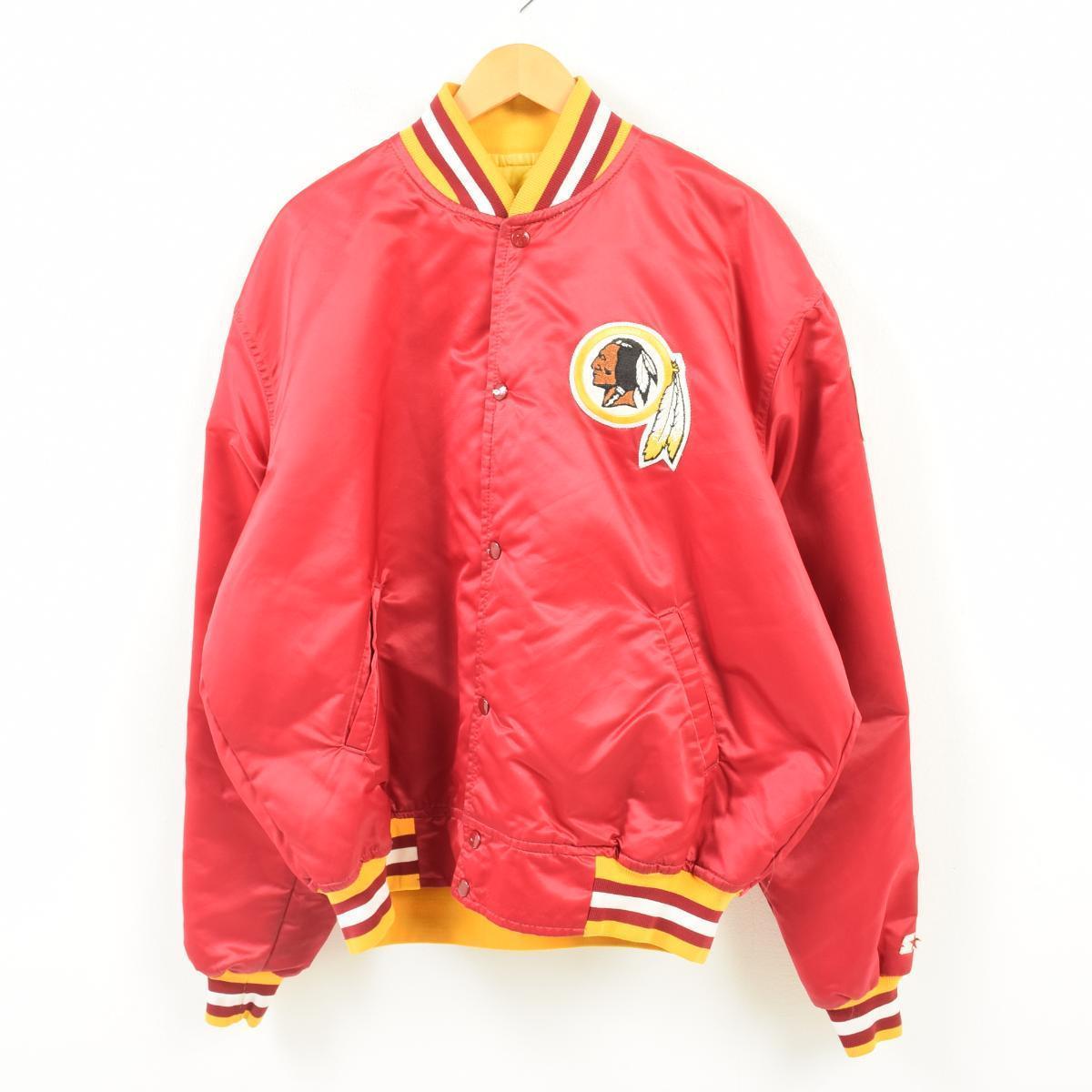 separation shoes 0b3a1 14f99 Men XXL /war1932 in the 90s made in starter Starter NFL WASHINGTON REDSKINS  Washington Redskins nylon award jacket Award jacket USA