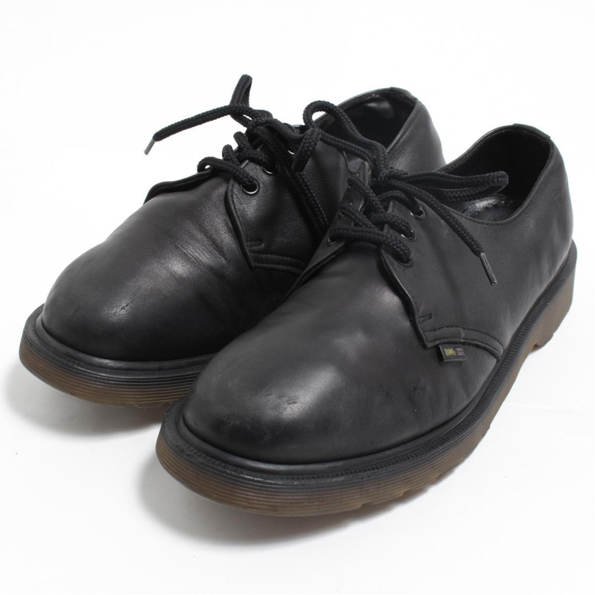 ドクターマーチン Dr.Martens 3ホールシューズ 英国製 UK9 メンズ27.5cm /bom3736 【中古】 【180420】