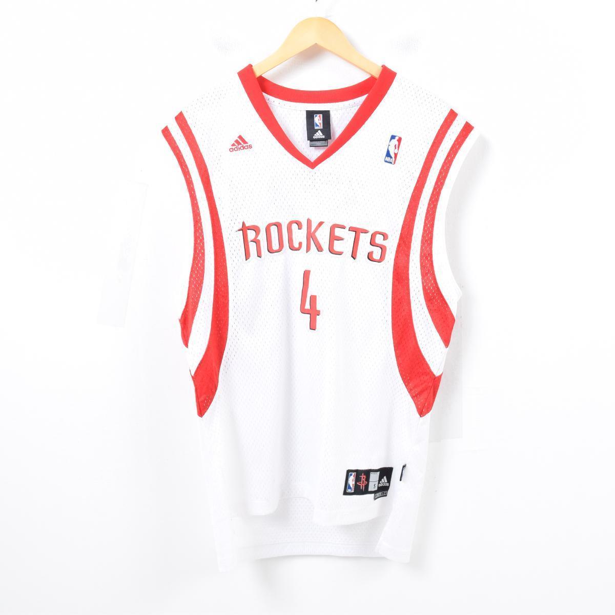 innovative design 33eb0 03272 Adidas adidas NBA HOUSTON ROCKETS Houston Rockets Lewis's Colla game shirt  replica uniform men M /was3069