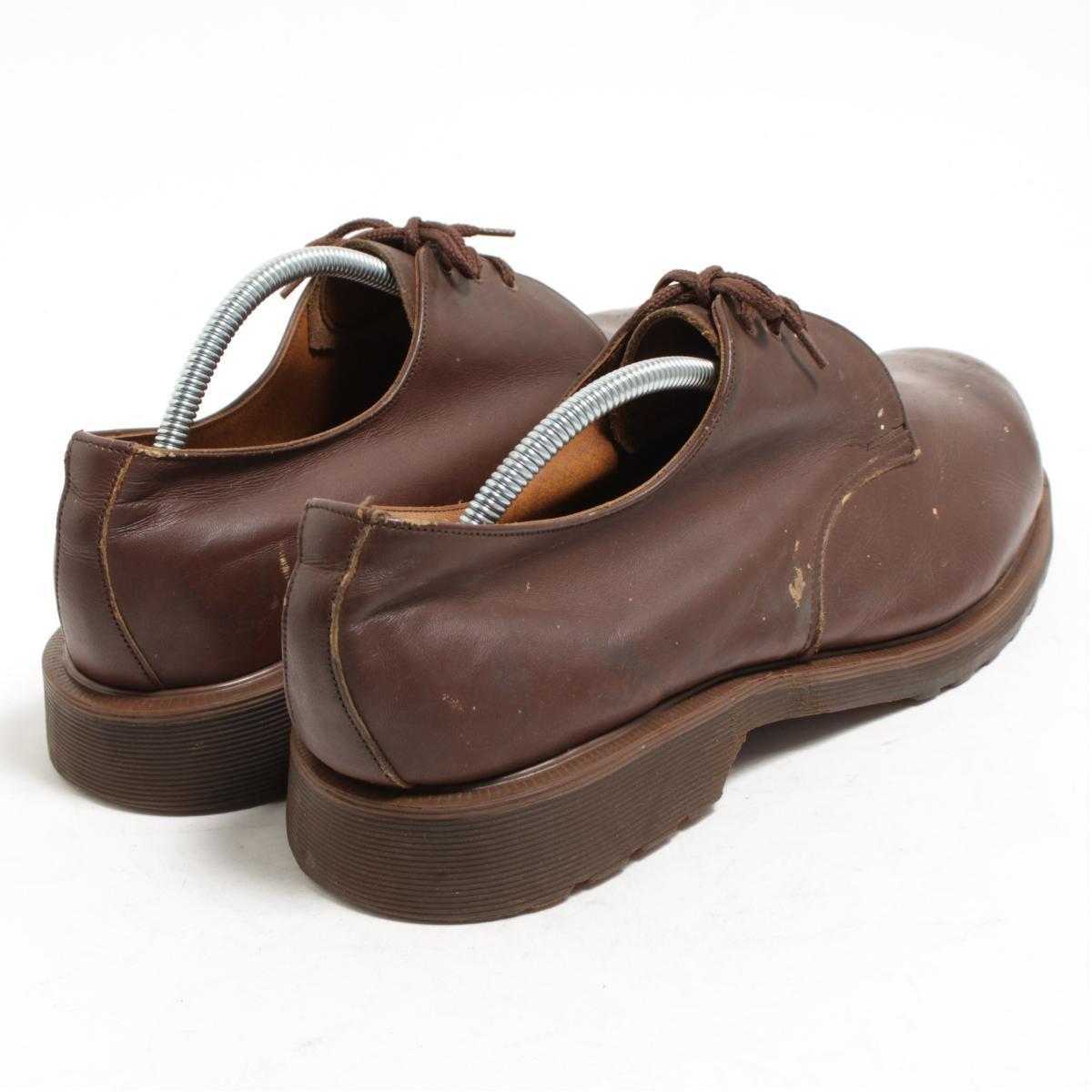 UK10 men 28.5cm vintage /bom3207 made in the steel toe 3 hall shoes U.K. in front of doctor Martin Dr.Martens carved seal