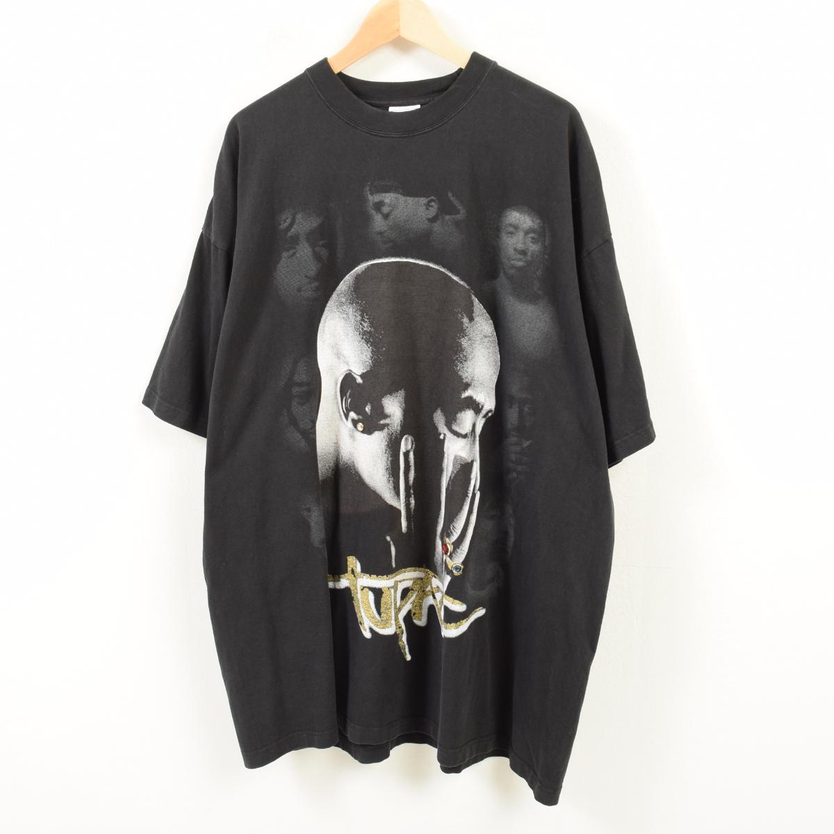 ビッグサイズ JOHN SON 2pac トゥーパック バンドTシャツ メンズ3XL /waq3058 【中古】 【180428】