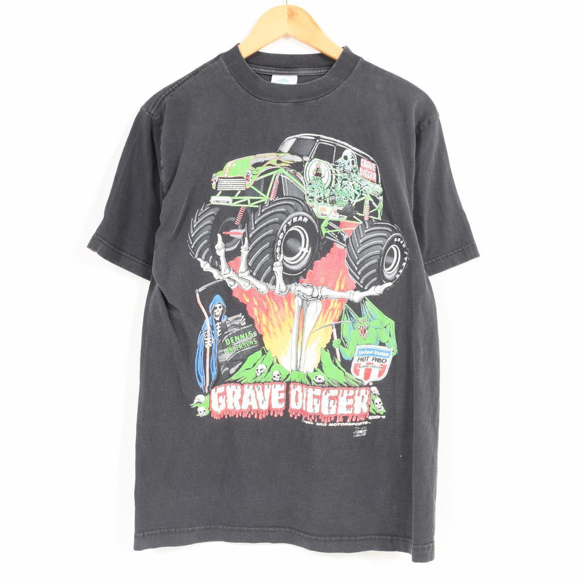 90年代 GRAVE DIGGER グレイヴディガー バンドTシャツ メンズM /war1310 【中古】 【180501】【TS2001】【VTG】