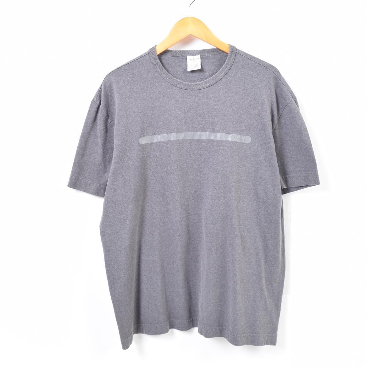 d2bf79948 90s - Calvin Klein Calvin klein JEANS one point logo T-shirt men L /was2354