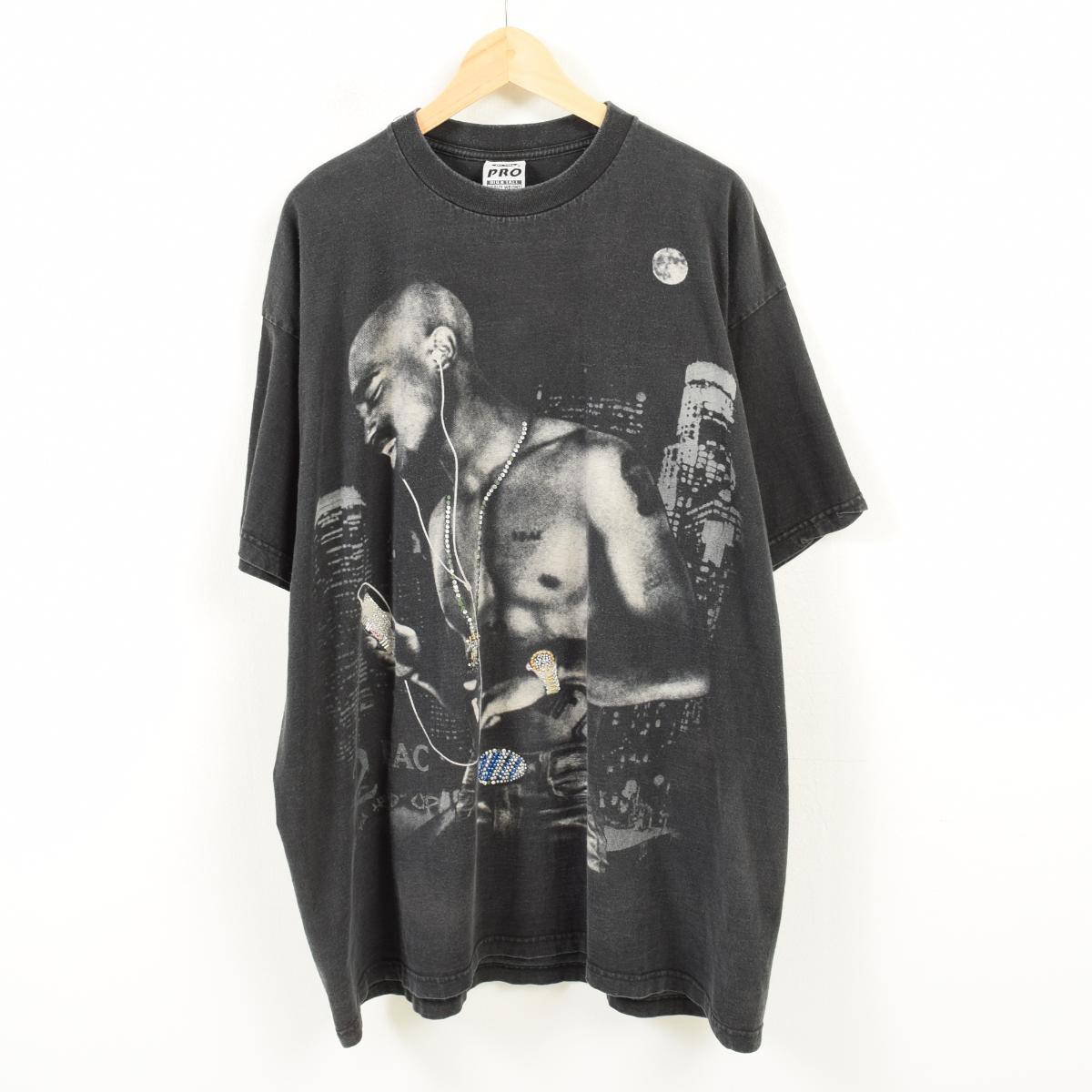 ビッグサイズ PRO X 2pac トゥーパック バンドTシャツ USA製 メンズXXXL /waq2698 【中古】 【180501】