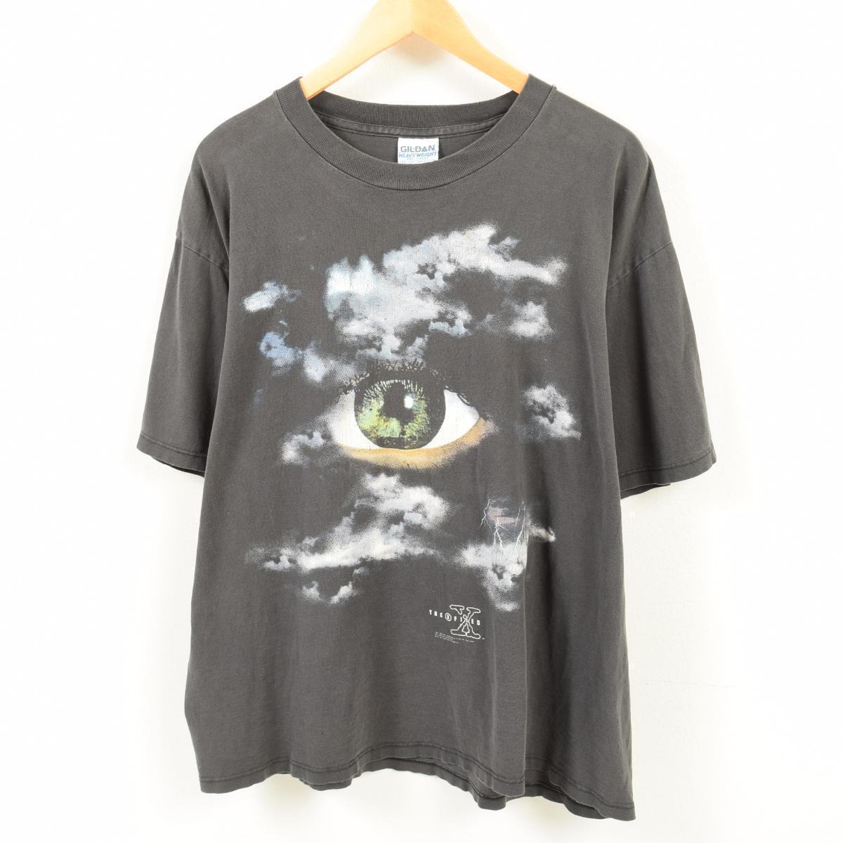 90年代 ギルダン GILDAN THE X FILES エックスファイル プリントTシャツ USA製 メンズXL /waq2700 【中古】 【180501】