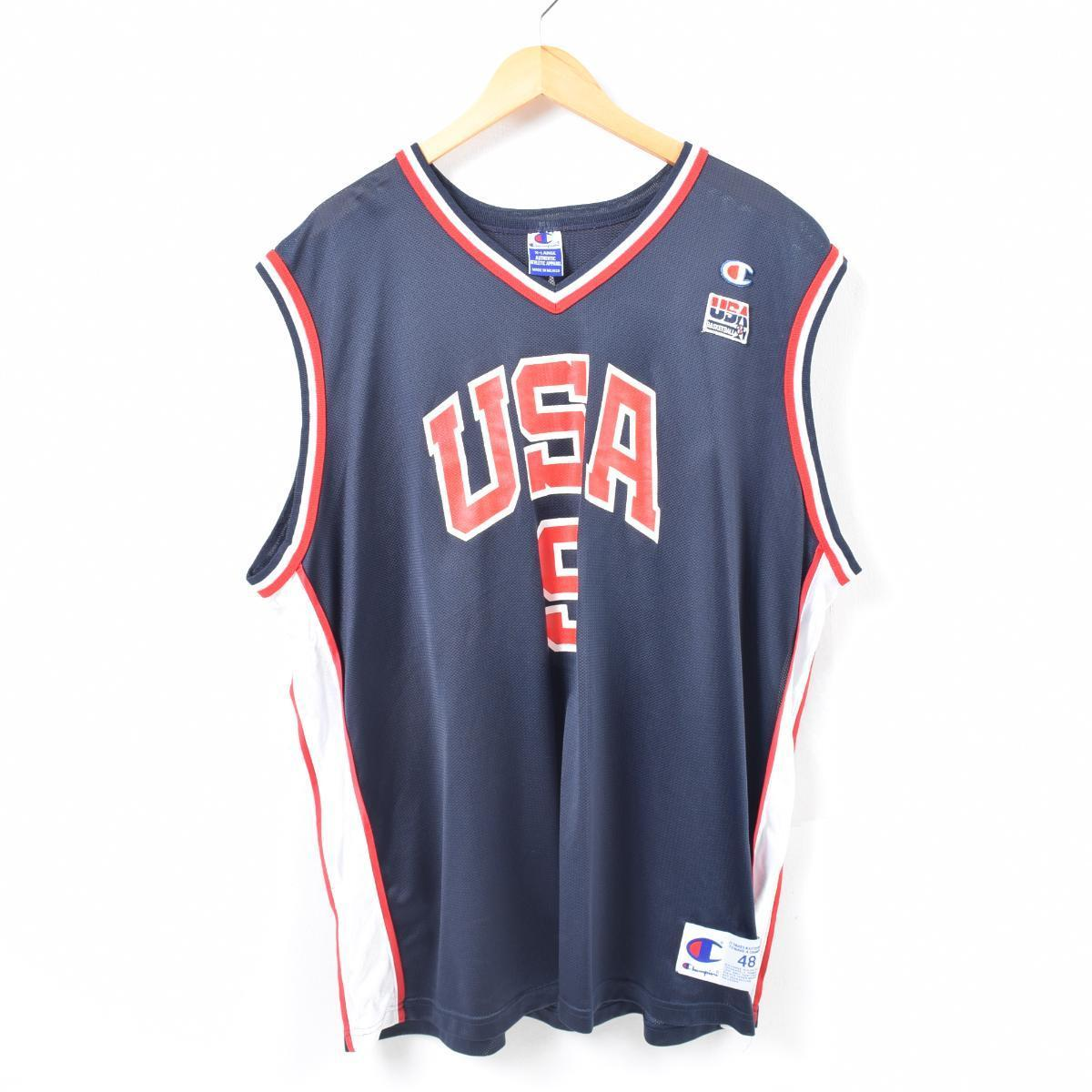 big sale 1ac4c ac8c0 90s champion Champion USA BASKETBALL Vince Carter Vince Carter game shirt  replica uniform men XXL /was2499