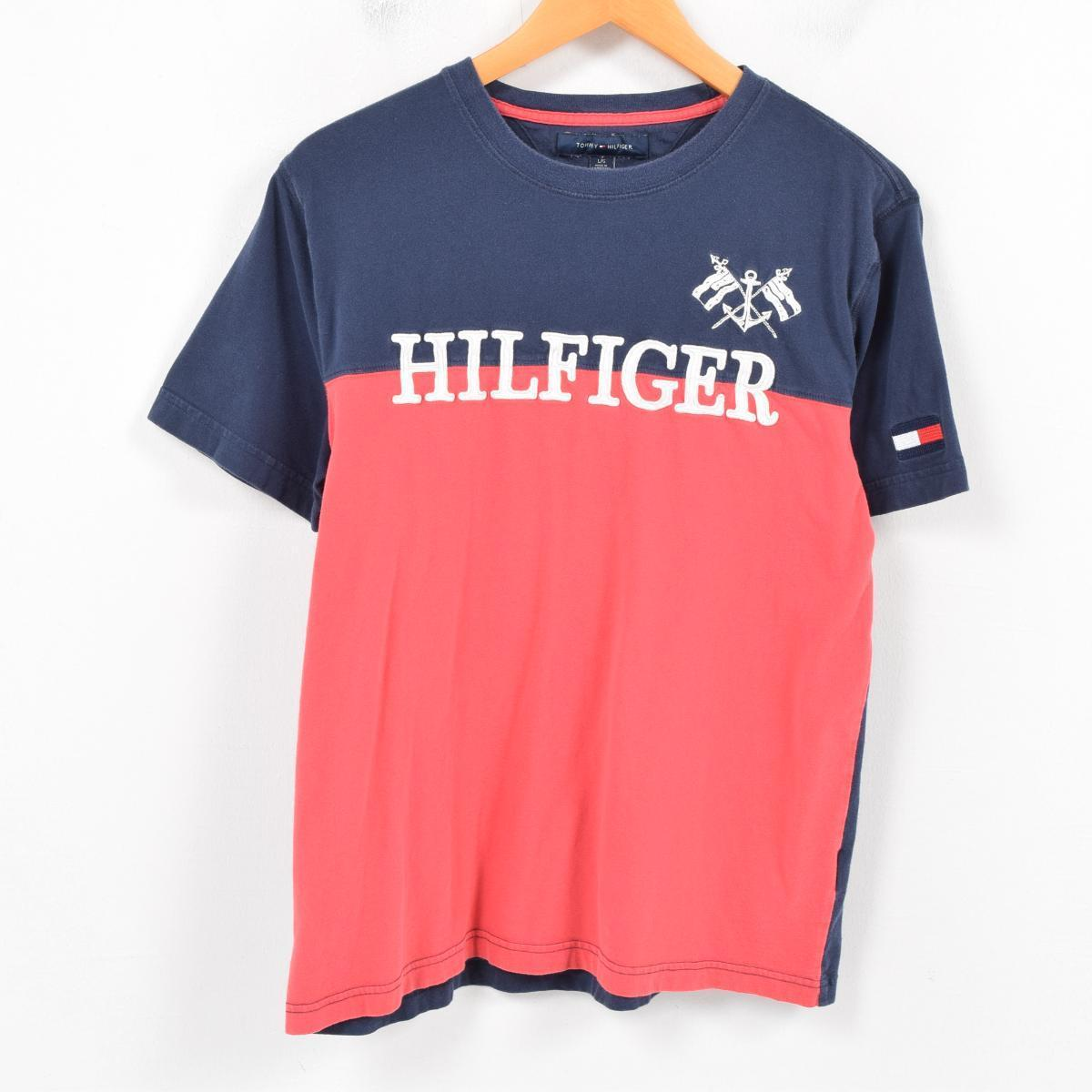 a45c6ff48 VINTAGE CLOTHING JAM: トミーヒルフィガー TOMMY HILFIGER football T ...