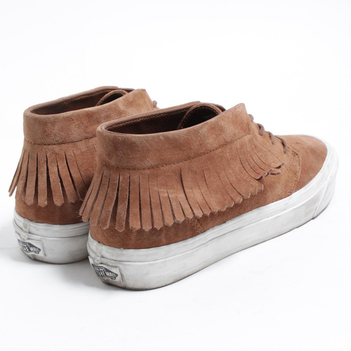 5482b8f8102909 Vans VANS CHUKKA MOC DX fringe suede sneakers US7 .5 men s 25.5cm  bom8257
